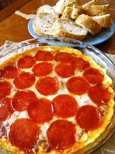 Pepperoni Pizza Dip | Modern Martha