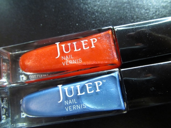 Julep Mischa and Melanie Nail Polish