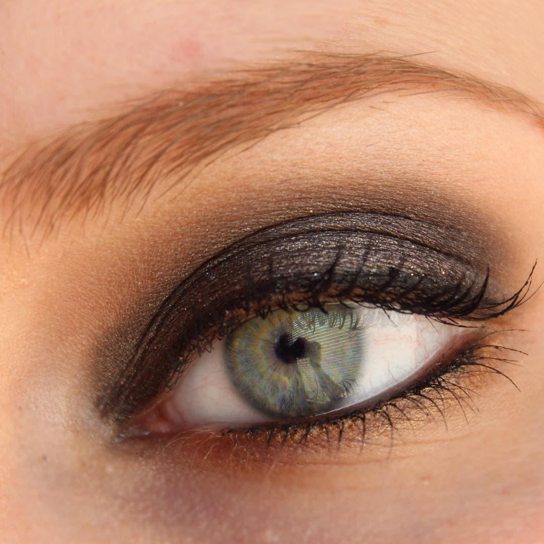 This is my daytime smoky eye And my nighttime smokyhellip