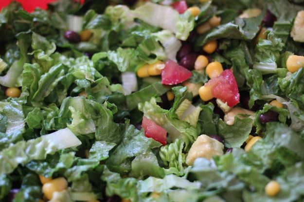 Southwestern Salad by Modern Martha