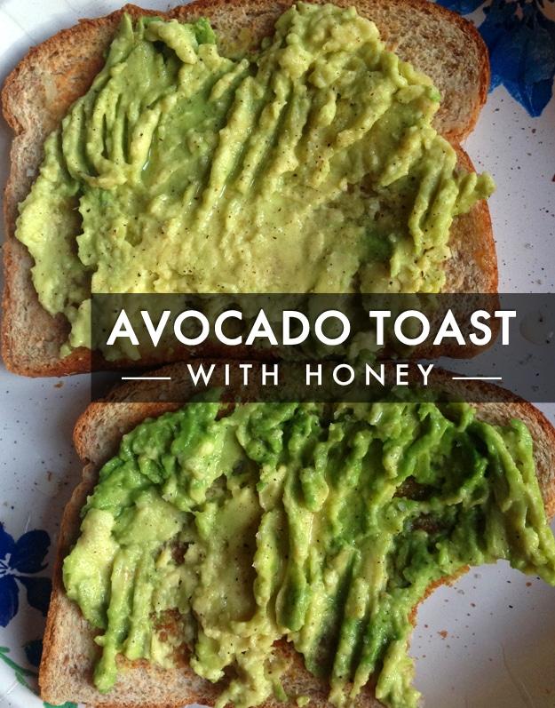 Avocado Toast with Honey