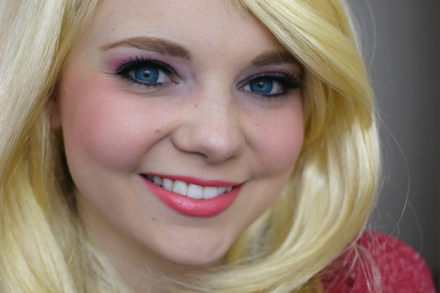 Barbie Costume Makeup Tutorial