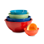 Colorful Mixing Bowls