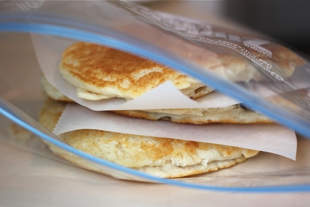 How to Store Leftover Pancakes and Waffles