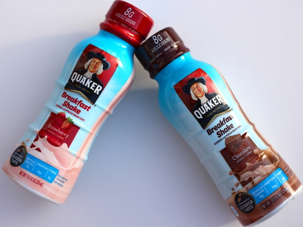 Quaker Breakfast Shakes Strawberry and Chocolate