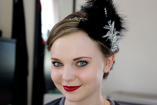 1920s Flapper Makeup Tutorial Kelsey