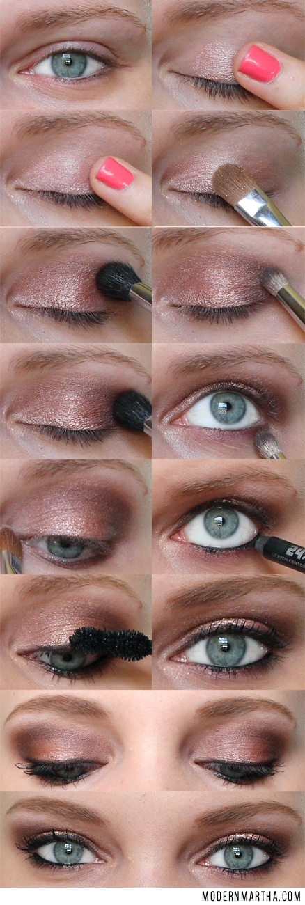 Naked 3 Palette Step by Step Tutorial