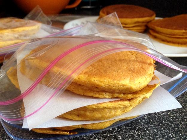 Bisquick Vegan Pumpkin Pancakes