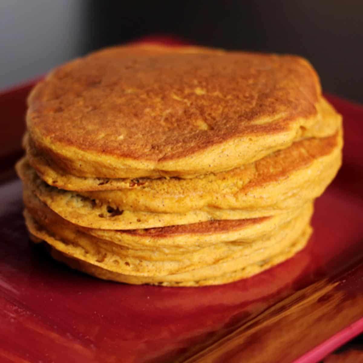 Bisquick Pumpkin Pancakes.