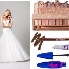 Naked 3 Palette Bridal Look