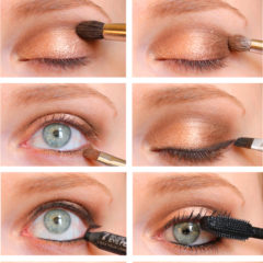Gold Holiday Eyes Tutorial
