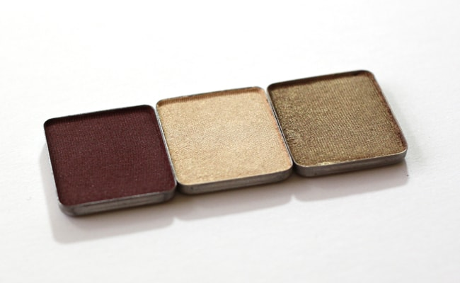 Aveda Petal Essence Single Eye Color in Allspice, Ivory Lotus, and Golden Cypress