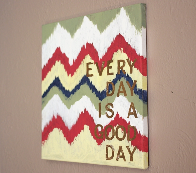 Quotes on Canvas DIY