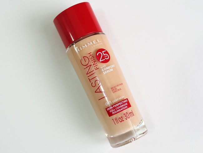 Rimmel Lasting Finish 25HR Foundation with Comfort Serum