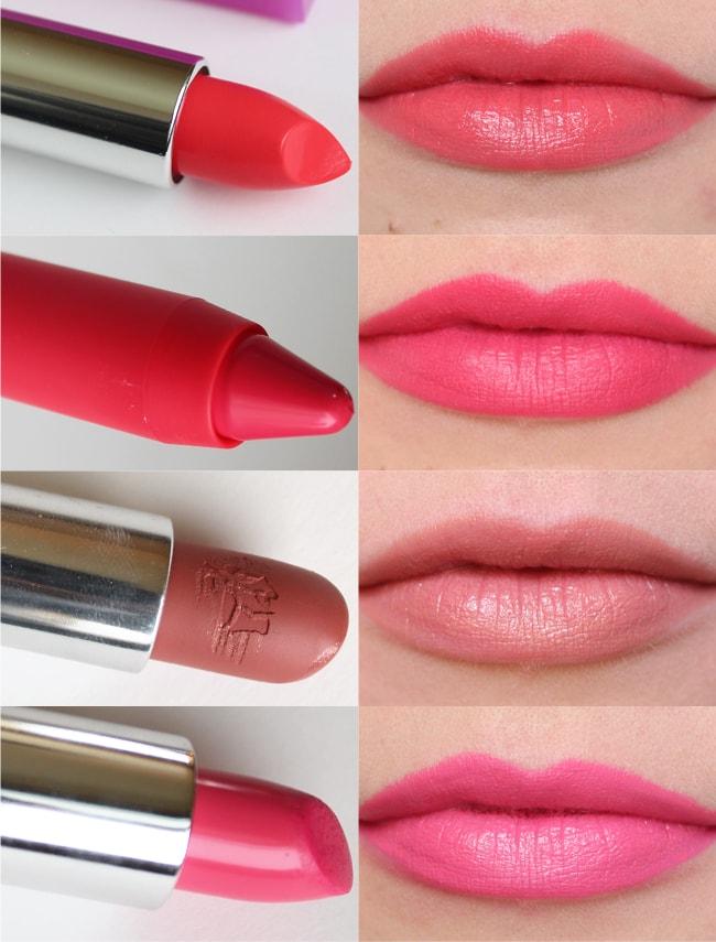 Pink Lip Four Ways