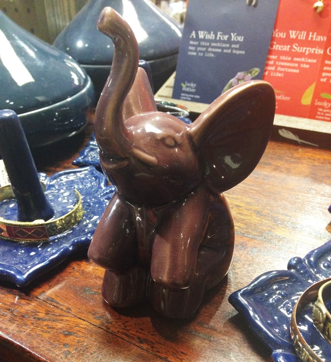 Elephant Ring Holder from Earthbound Trading Company