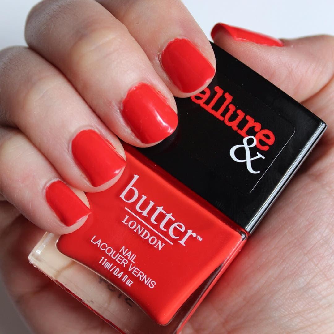 Dang butter LONDON x Allure Statement Piece manimonday mani manicurehellip