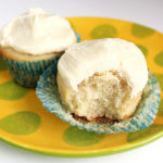 Vanilla Cupcakes and Frosting for Two