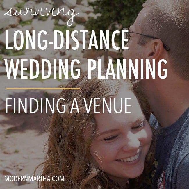 Long Distance Wedding Planning