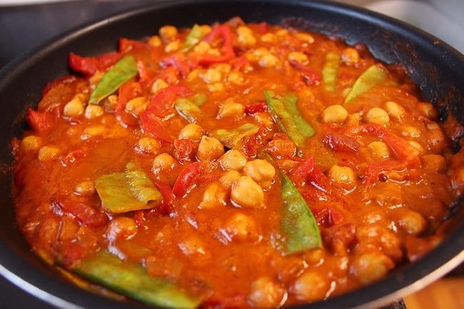 Madras Chickpea Curry