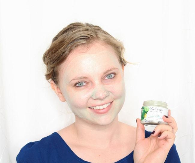 Delizioso Skincare Cucumber and Aloe Detox Mask Review