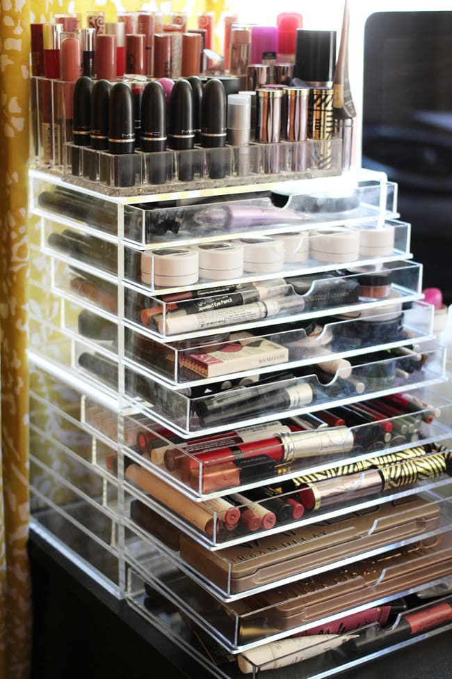 Declutter Streamline Your Makeup Collection