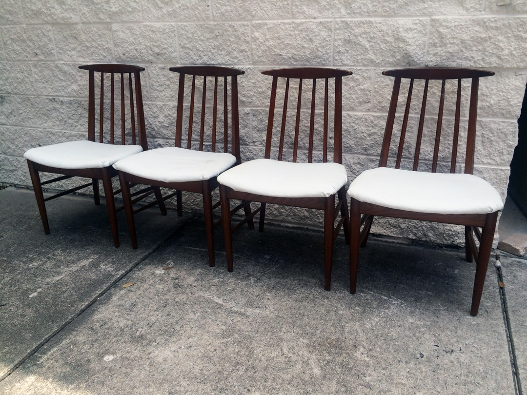 Mid-Century Oak Dining Chairs