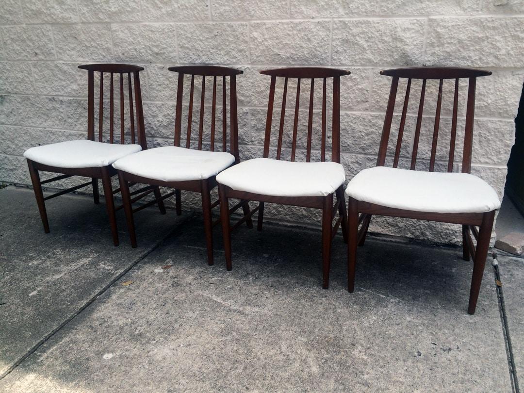 Mid-Century Oak Dining Chairs