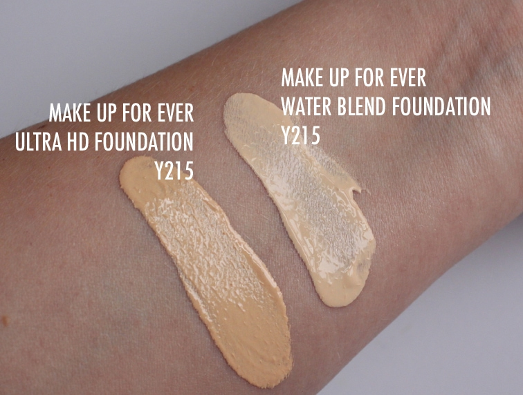 Makeup Forever Water Blend Foundation Swatches Mugeek