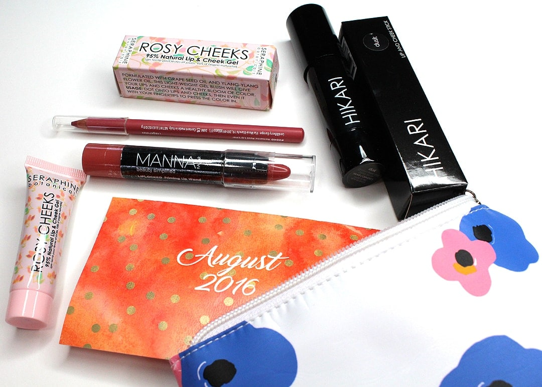 Lip Monthly August 2016 Review