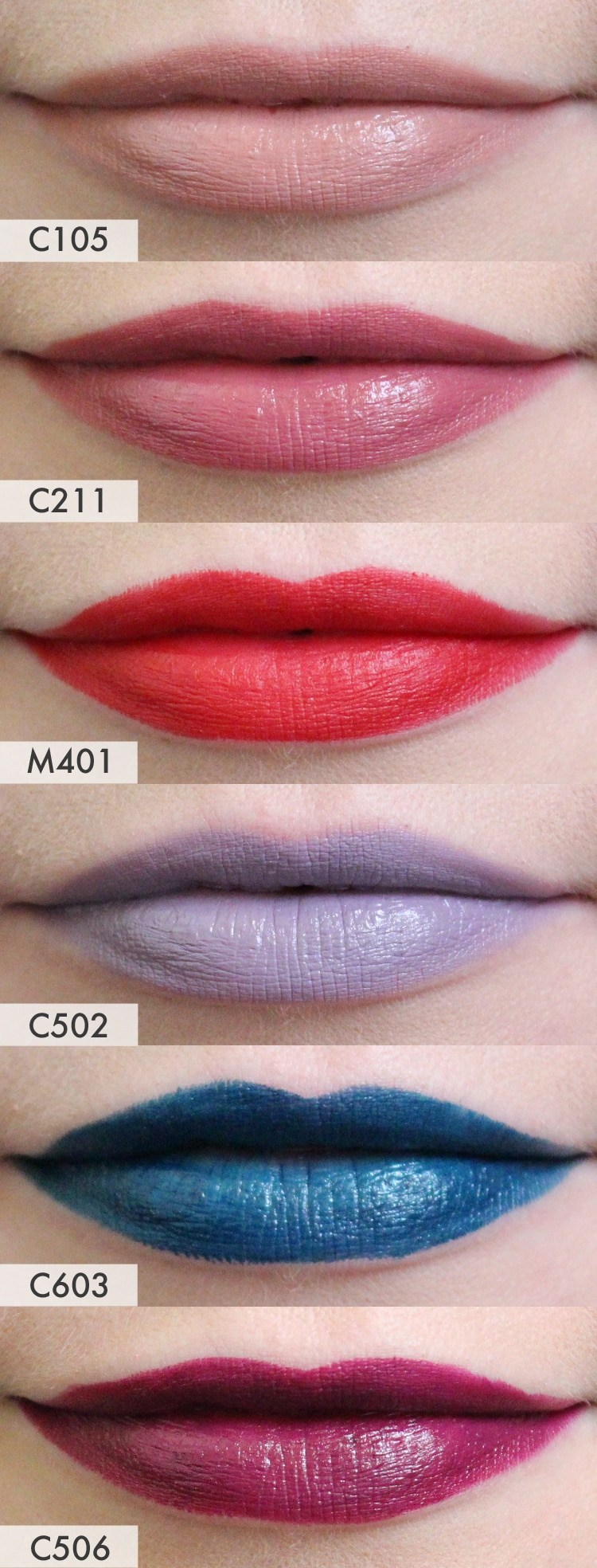 Makeup forever lipstick c211