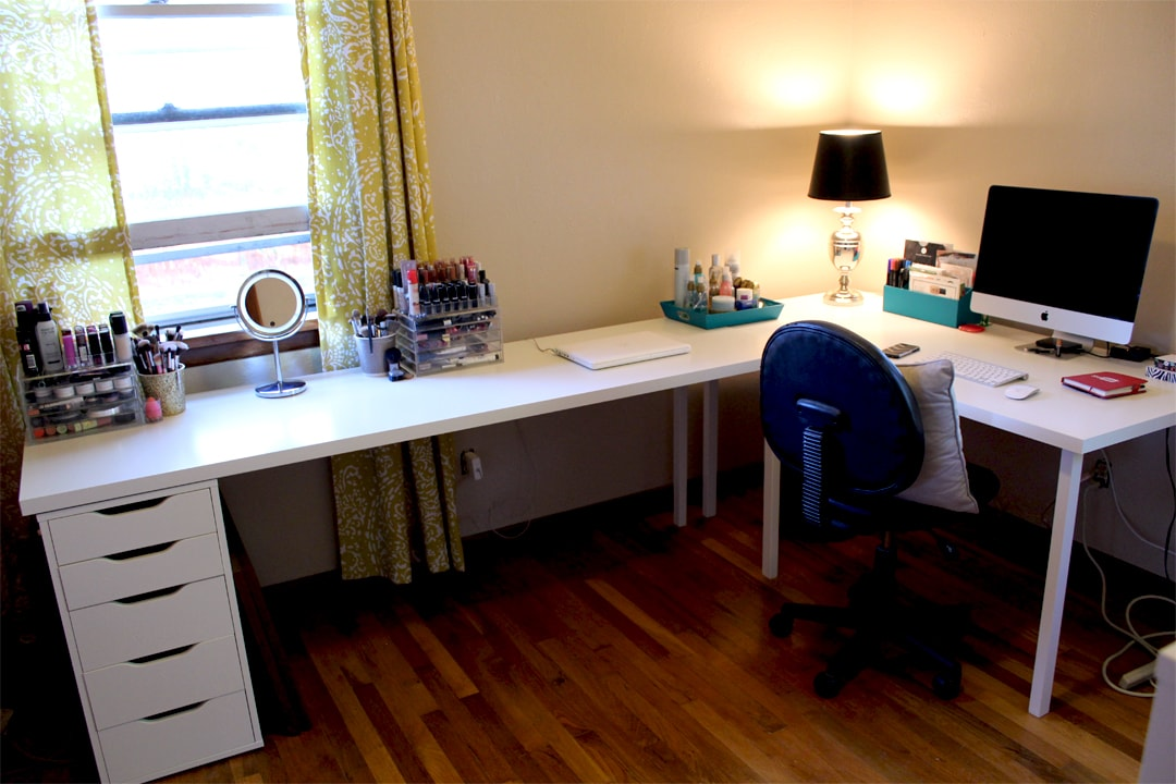 Ikea Desks Office Makeover