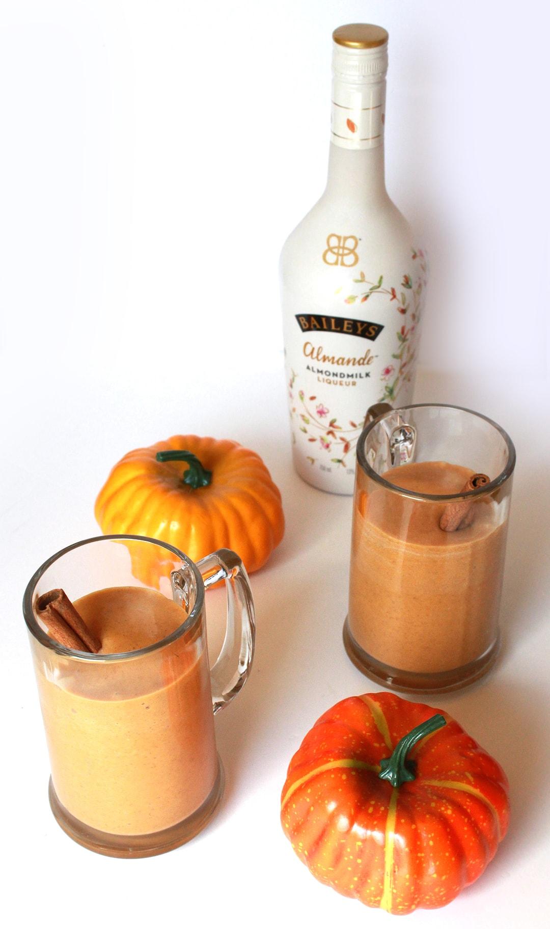 Pumpkin Spice Adult Milkshake