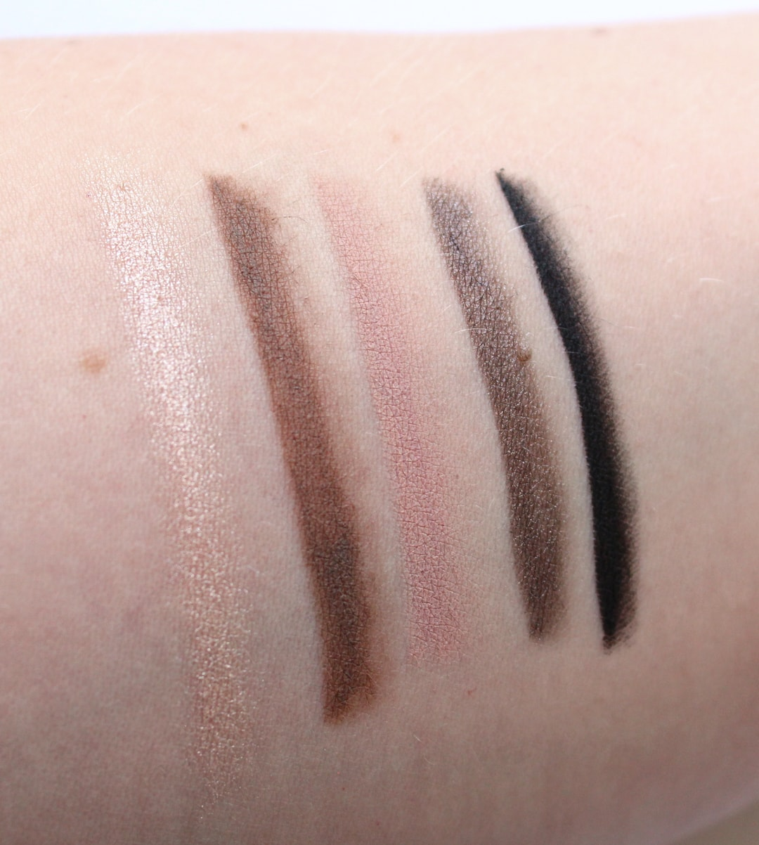 BHue Beauty Pencil Kit Swatches