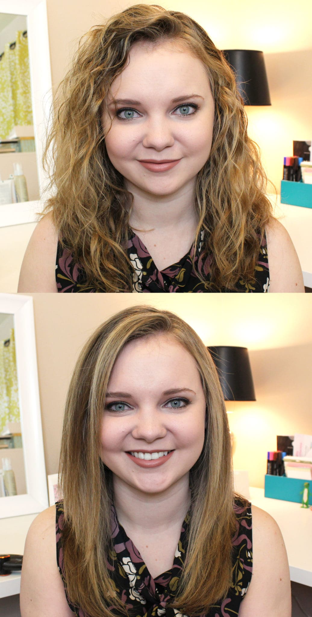InStyler MAX Rotating Iron on Curly Hair
