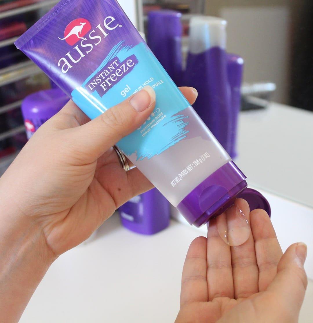 Aussie Instant Freeze Sculpting Hair Gel