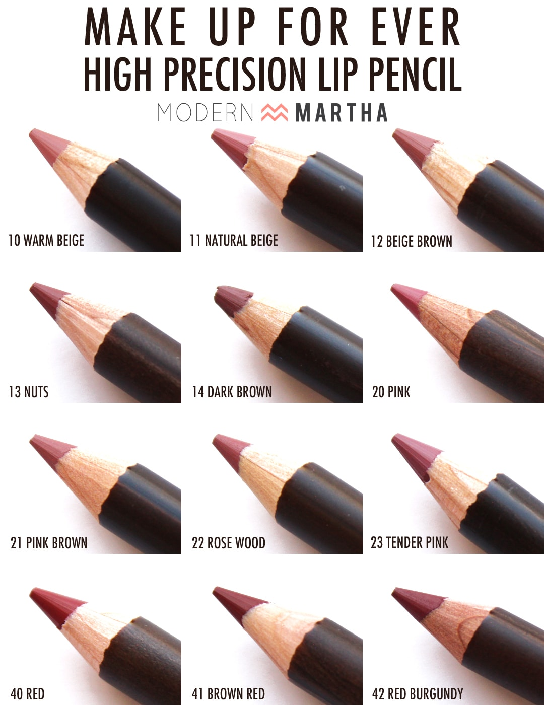 Make Up For Ever High Precision Lip Pencil