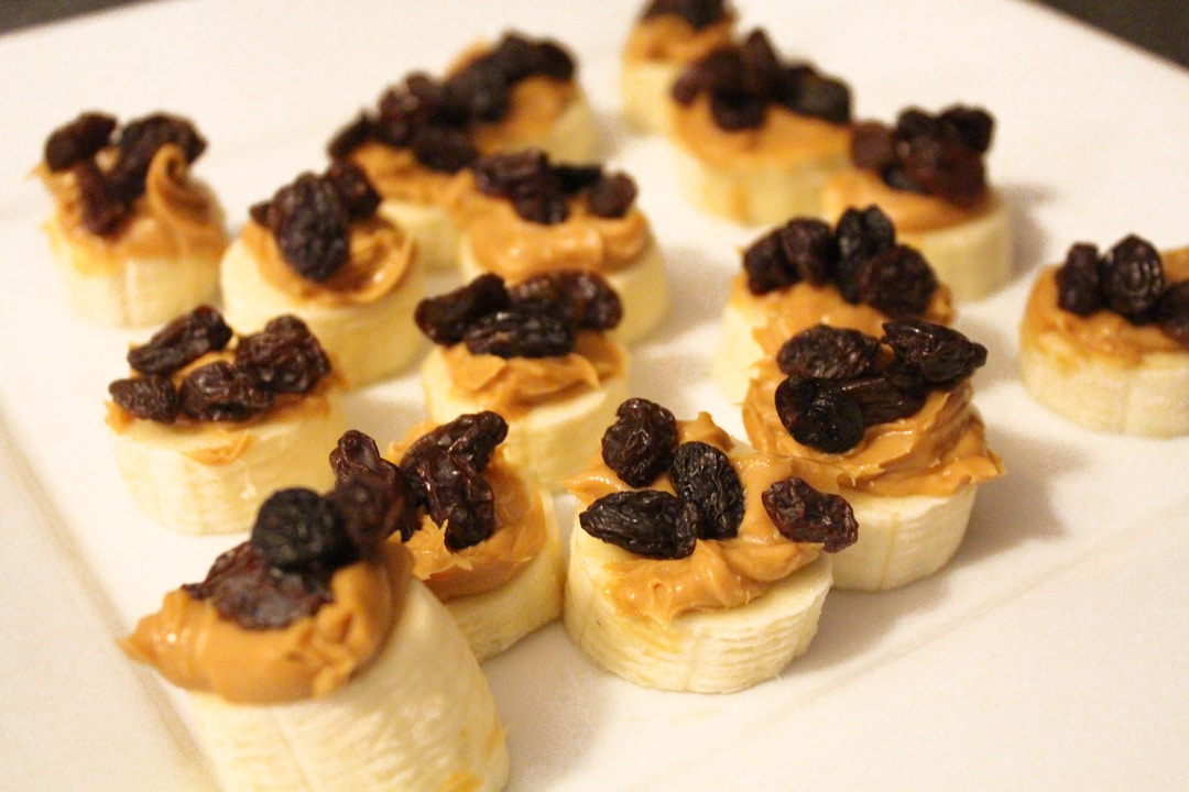 The Bachelor Right Raisins Banana Stacks