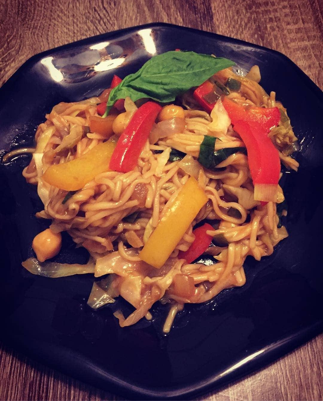 Vegan Drunken Noodle