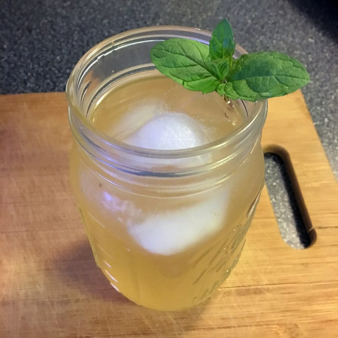 Mint to Be Mixed Drink