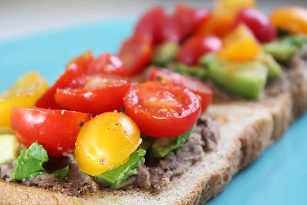 Heirloom Tomato, Black Bean & Avocado Toast