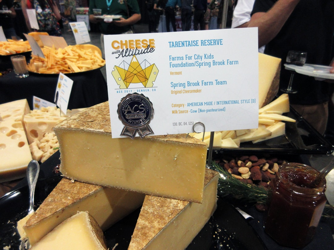 American Cheese Society Cheese with Altitude