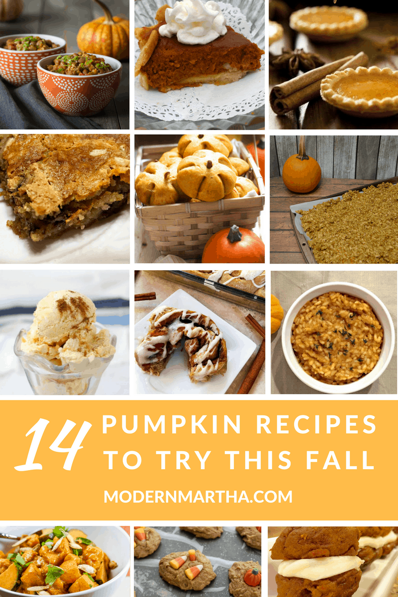 14 Pumpkin Recipes to Try This Fall