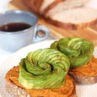 Pumpkin Avocado Toast