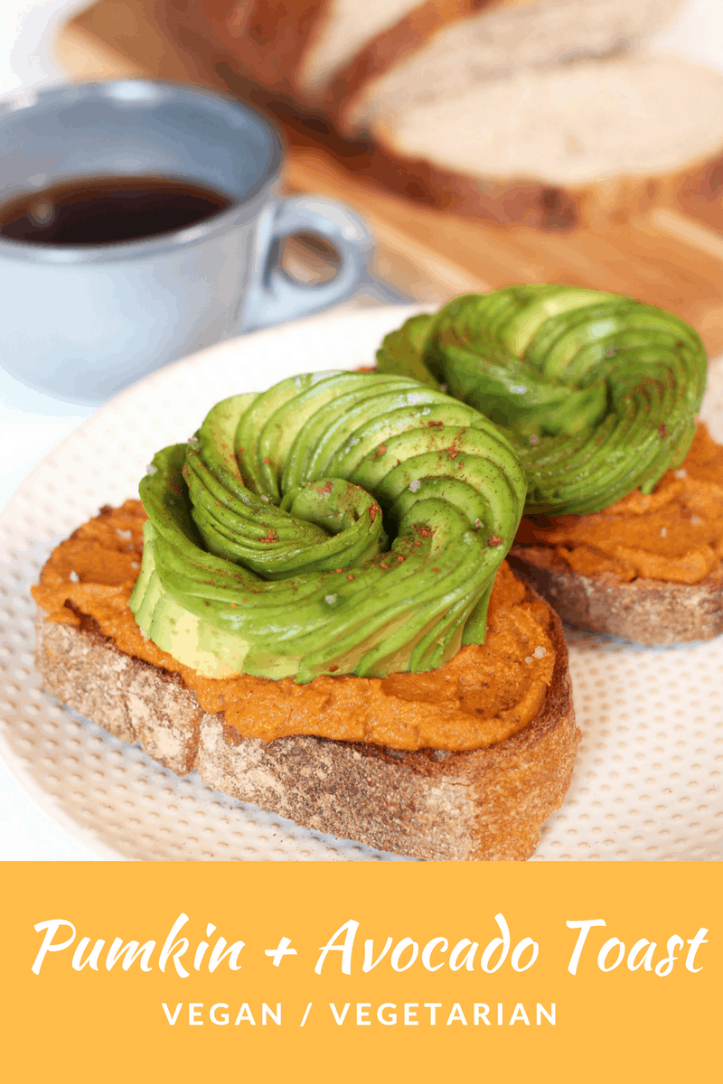Pumpkin Avocado Toast