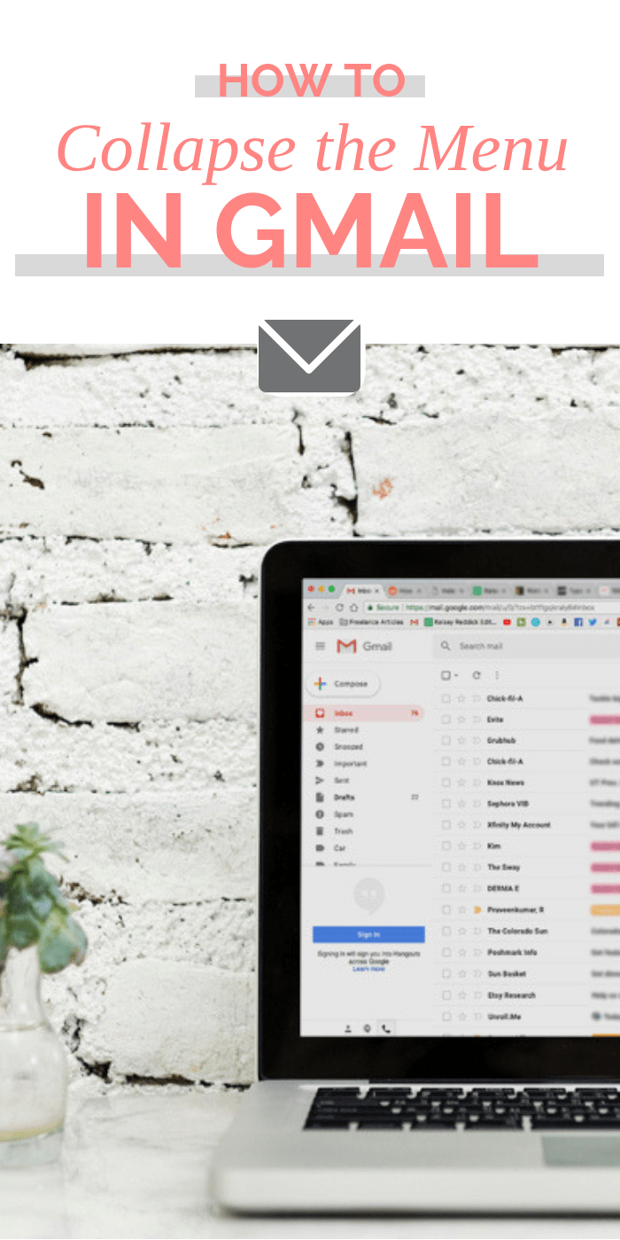 How to Keep the Sidebar in Gmail from Collapsing