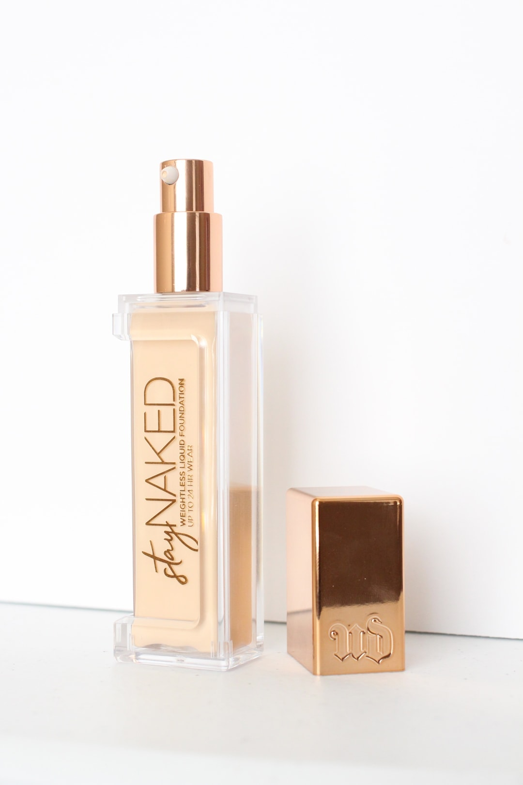 Urban Decay Stay Naked Liquid Foundation Review