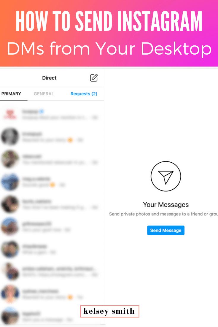 How to Send Instagram DMs on Desktop