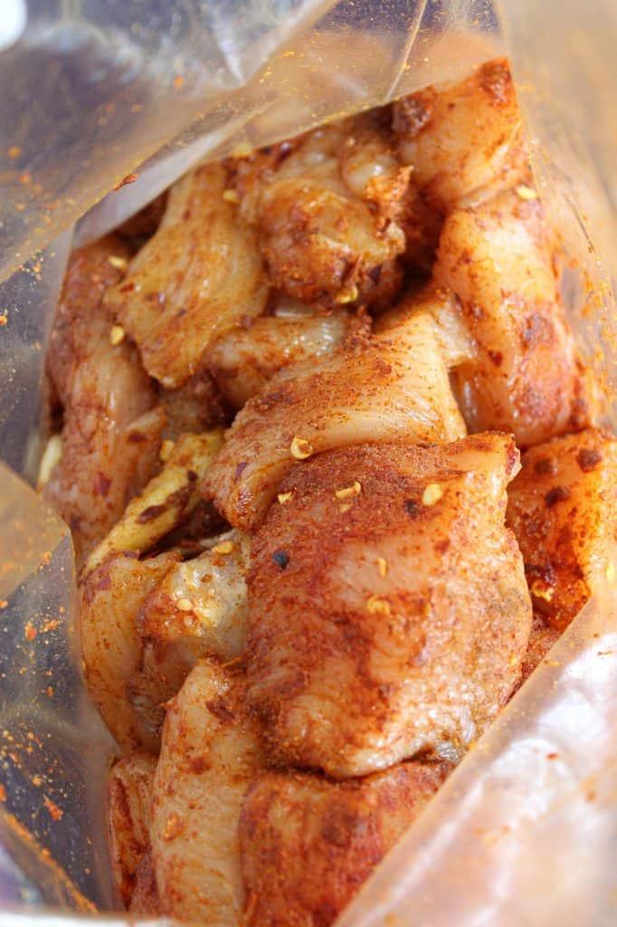 Chicken Tikka Masala Dry Rub
