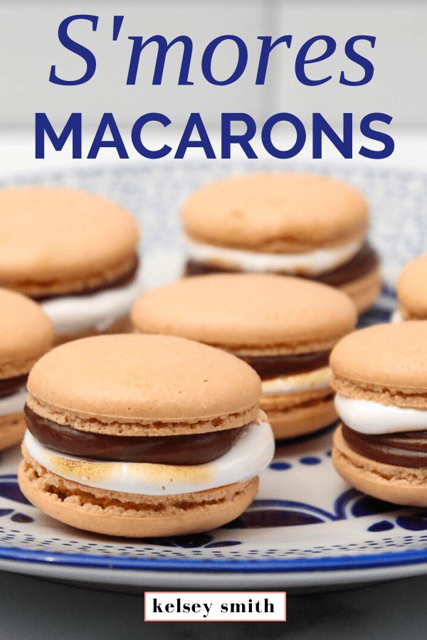 S'mores Macarons Recipe